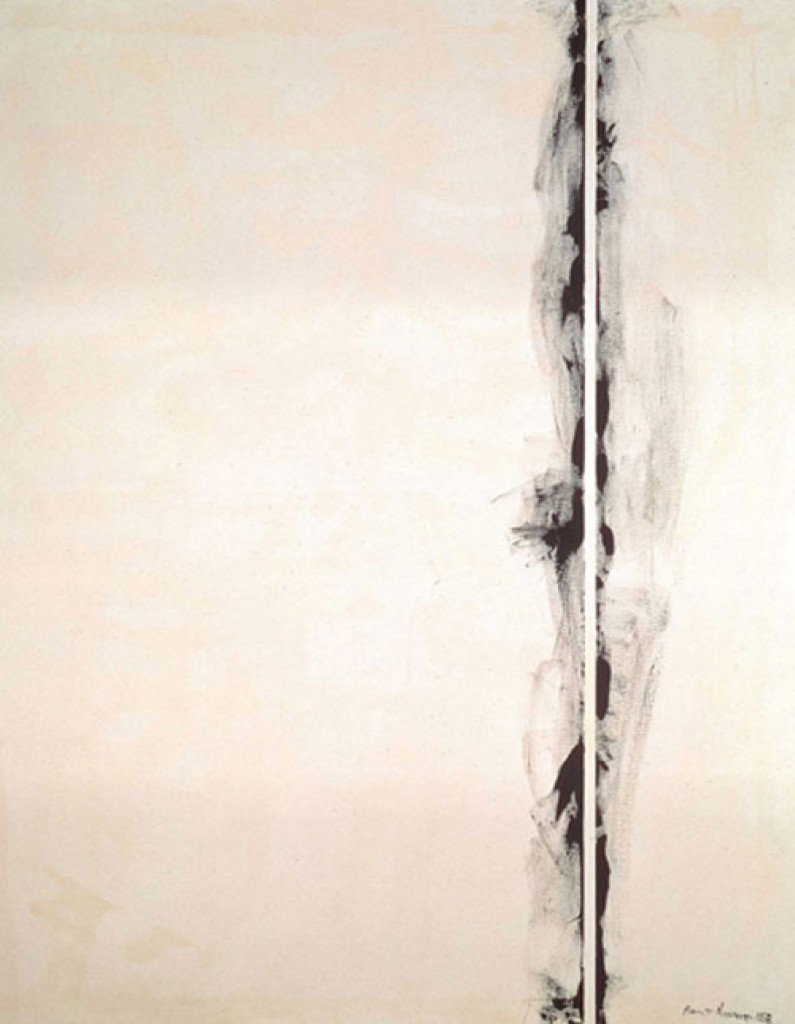 """First Station"" by Barnett Newman, 1958"