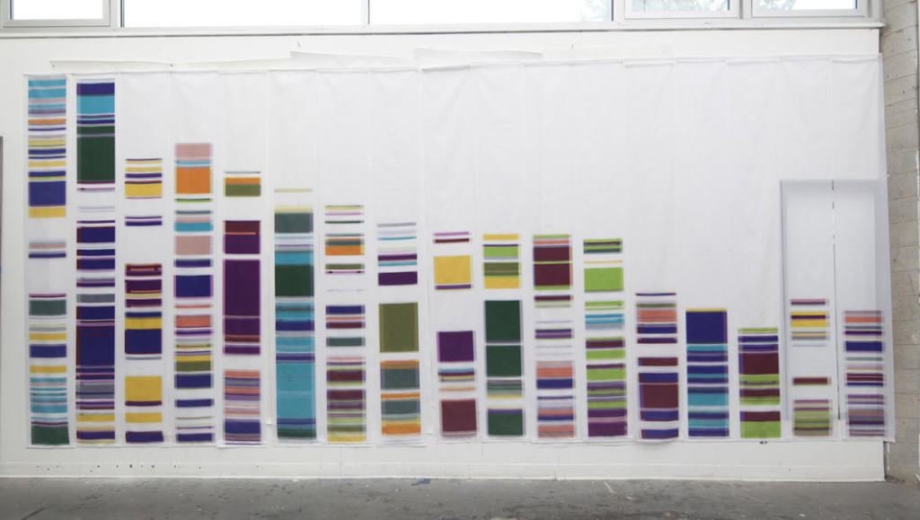 DNA inspired art by Geraldine Ondrizek